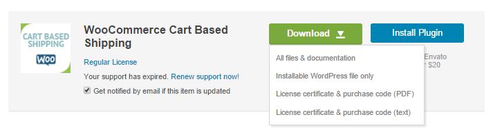 download plugin for installing